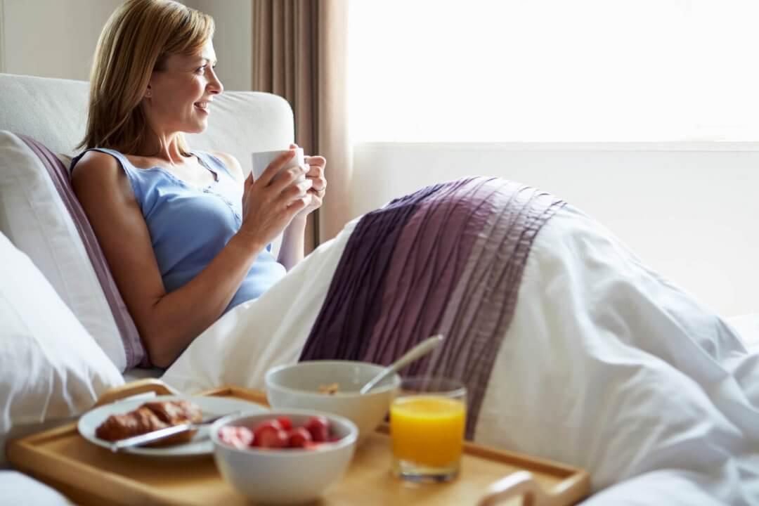 Café da manhã na cama