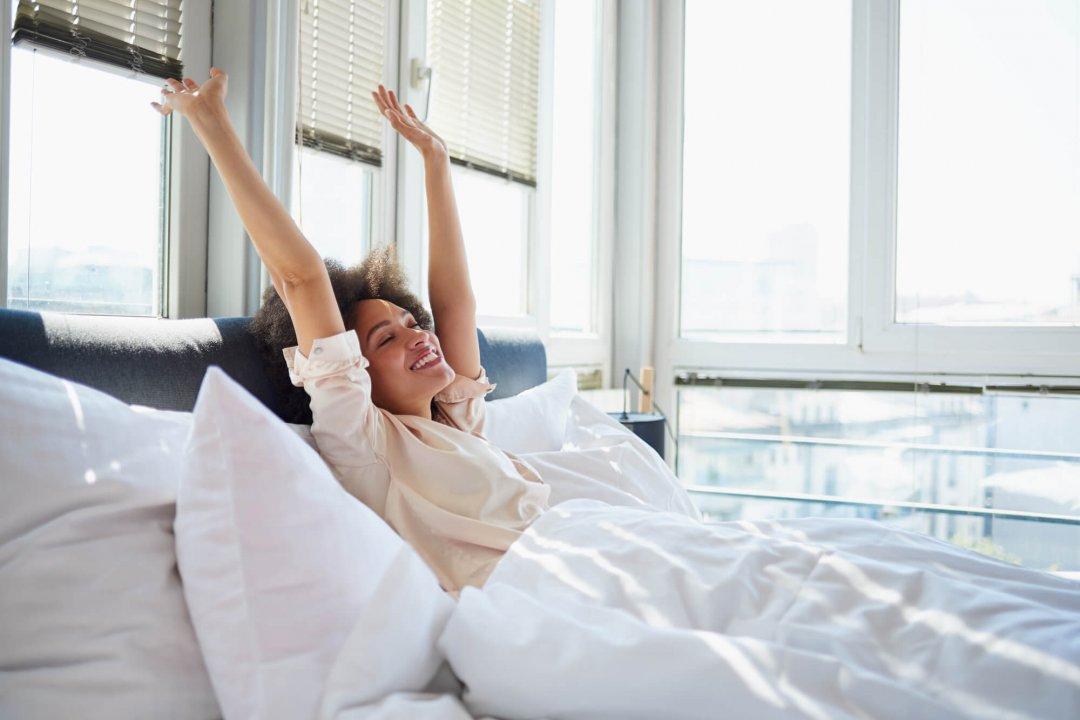 evitar acordar cansado